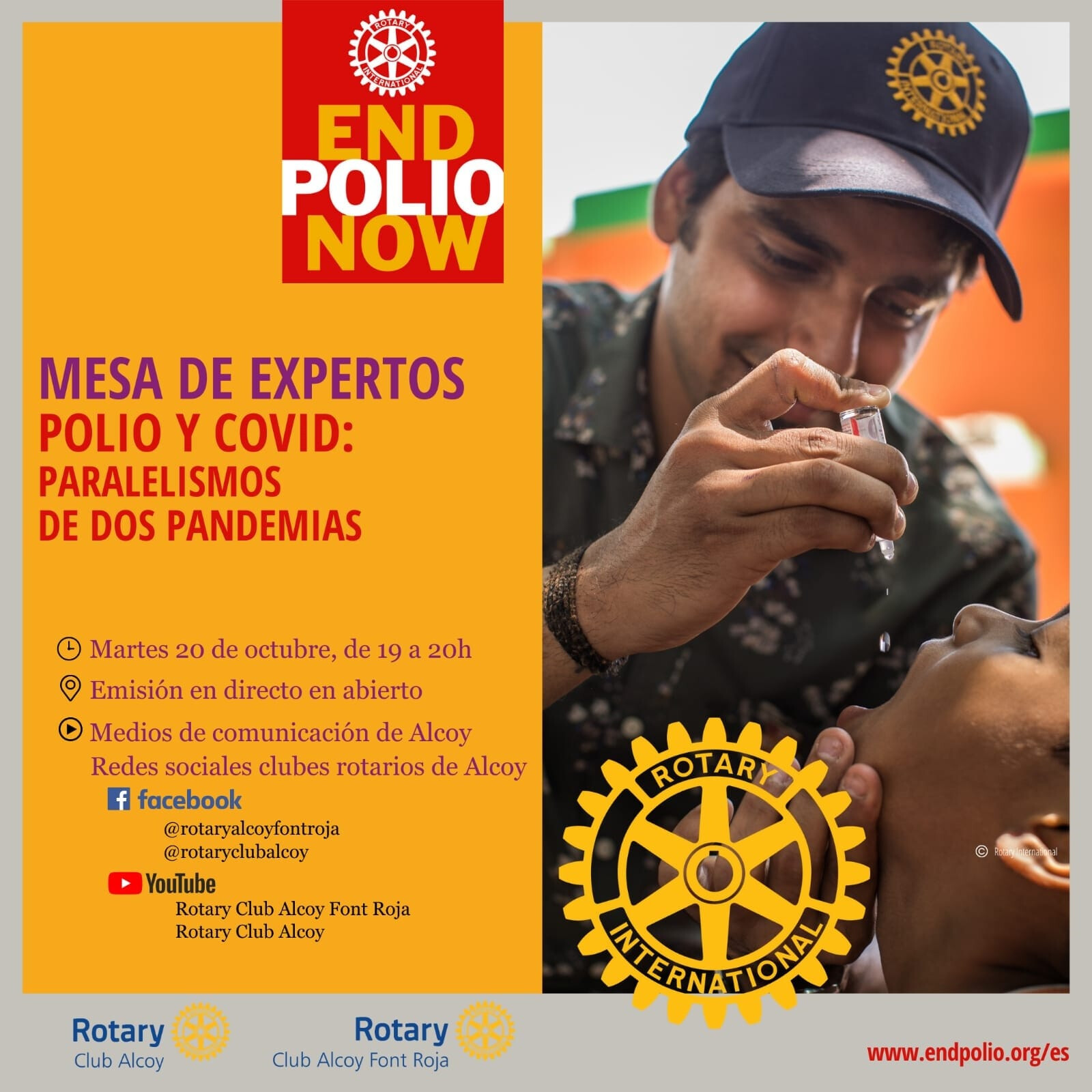 Mesa de expertos End Polio Now